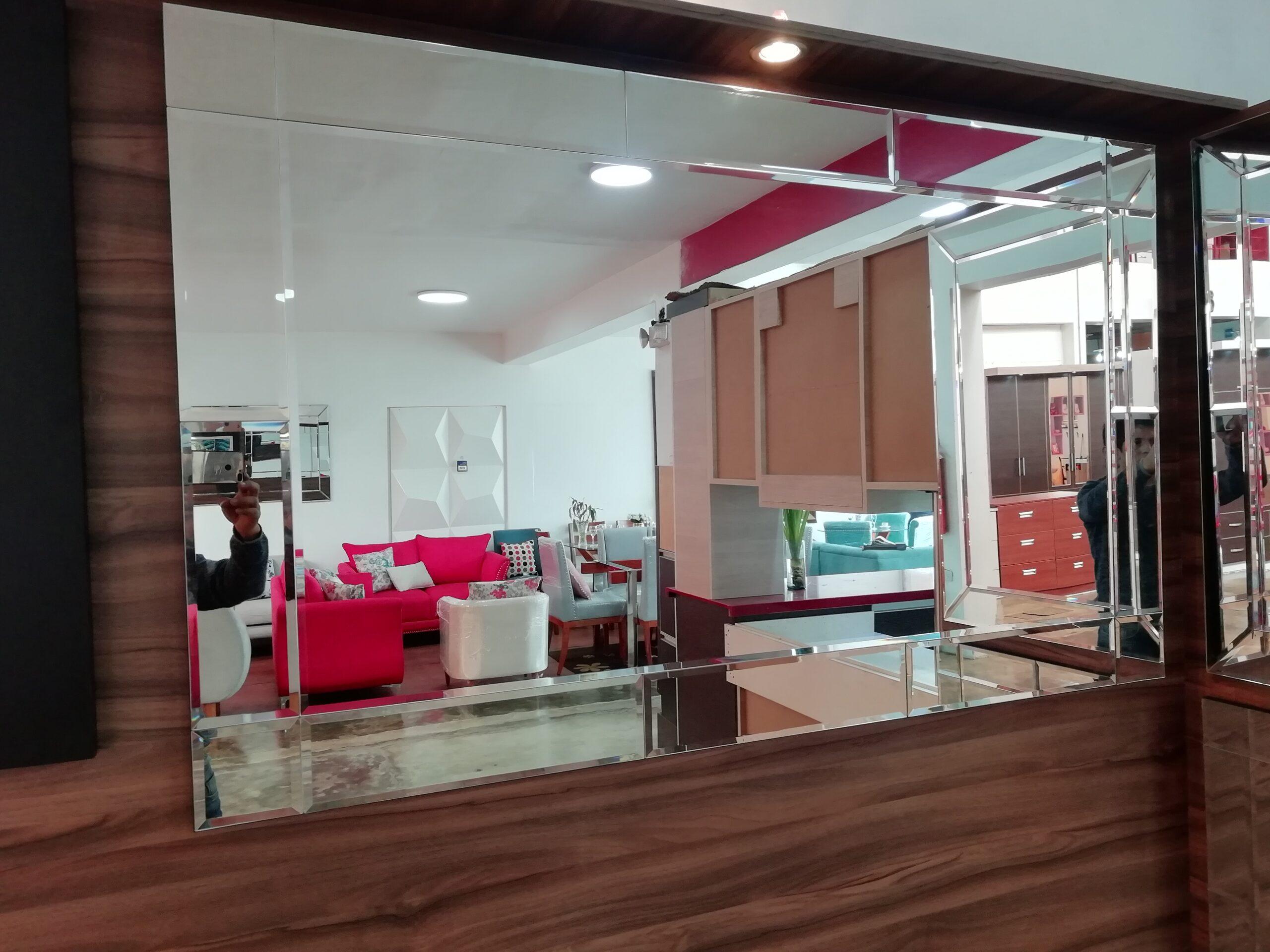 espejos decorativos para sala y pasillos