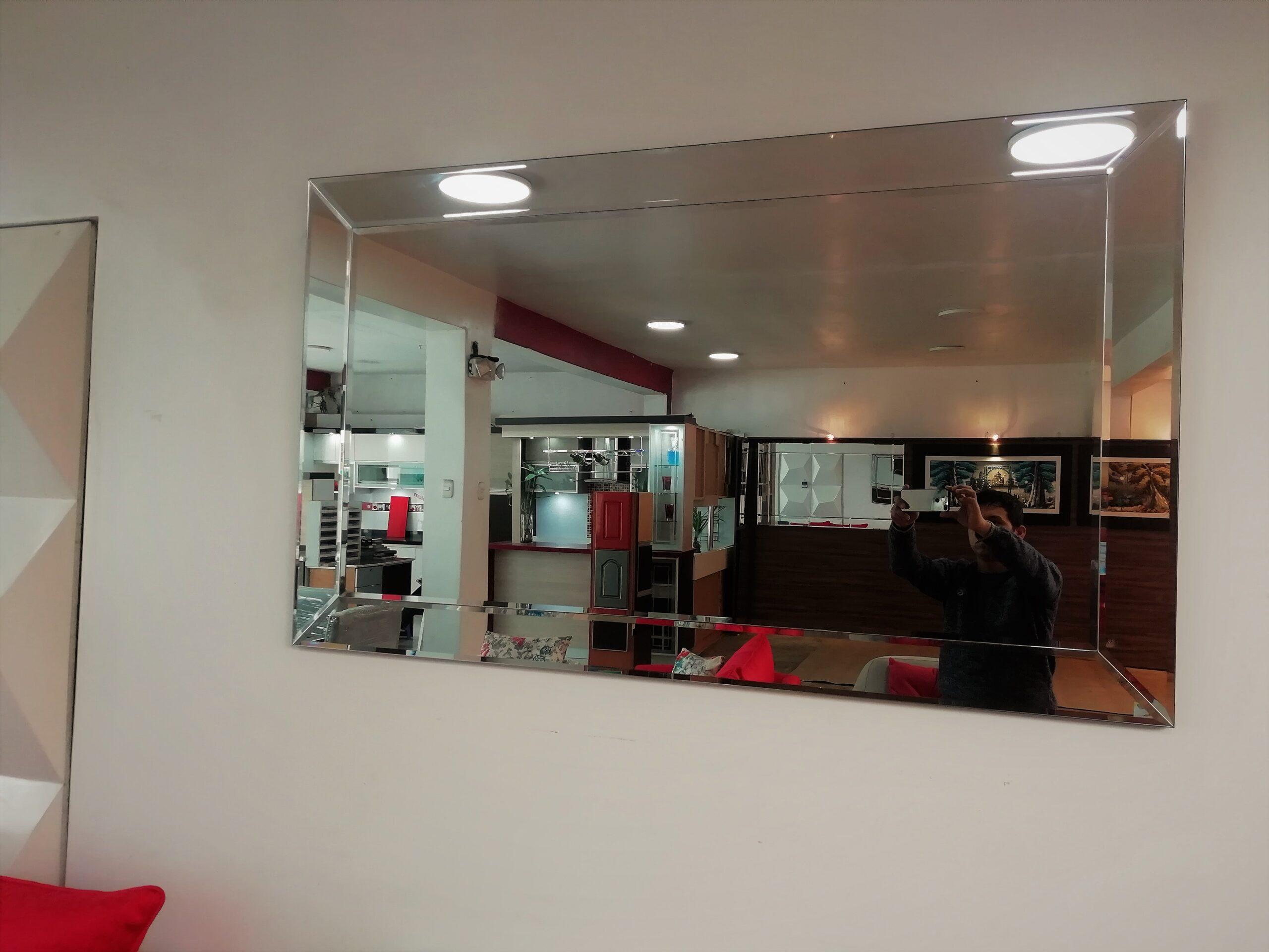 espejos decorativos en sala