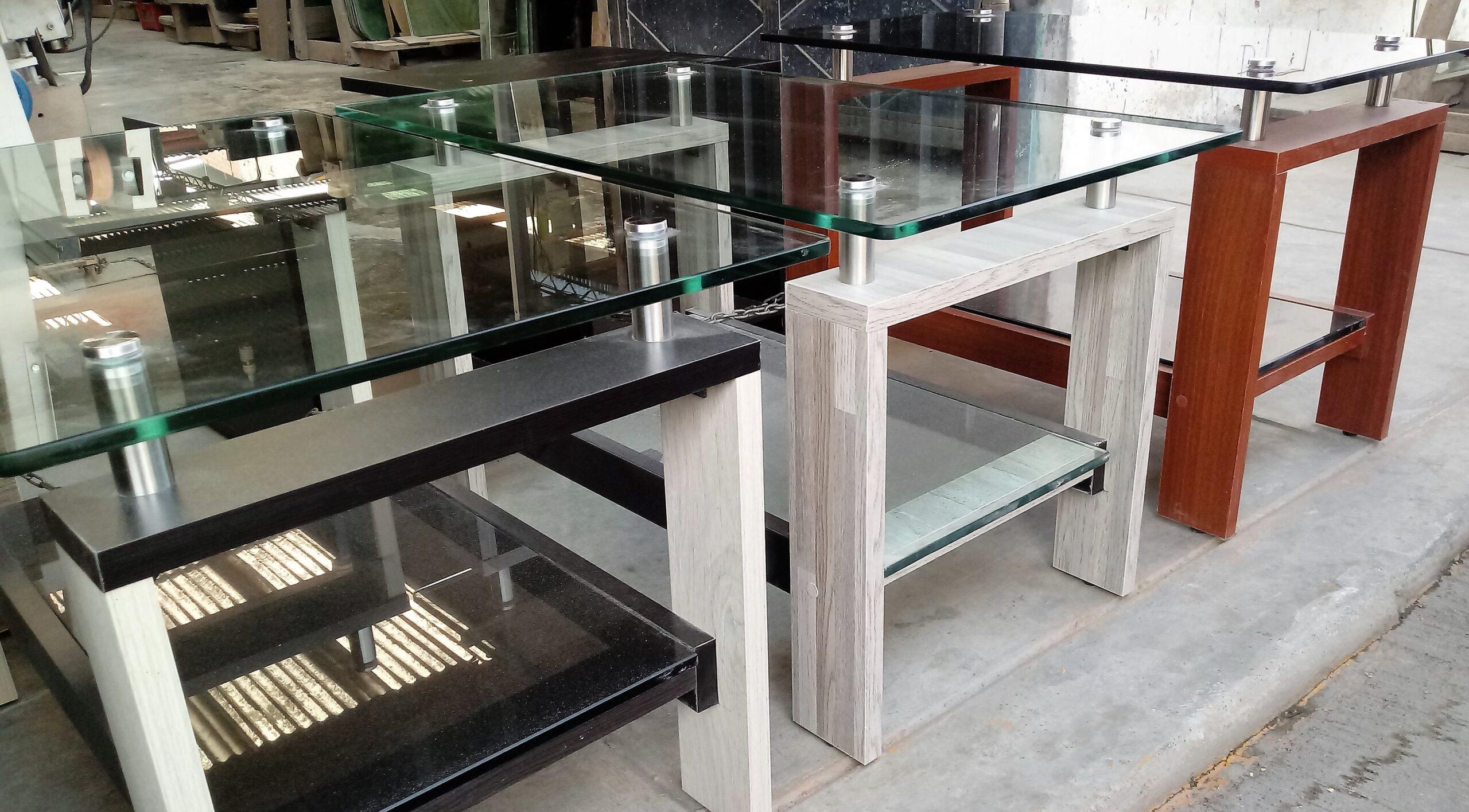 mesas de centro colores
