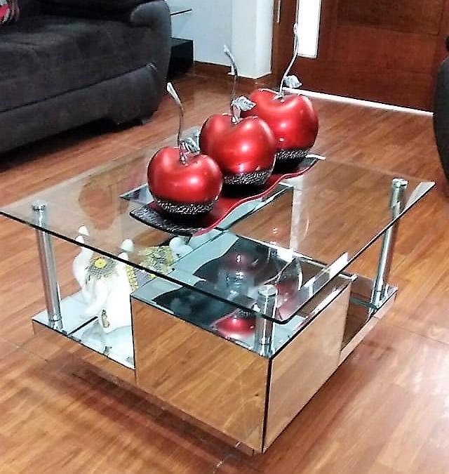 mesas de centro con decoracion